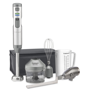 Cuisinart® Smart Stick Variable Speed Cordless Rechargeable Hand Blender with Electric Knife