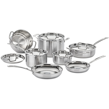 Cuisinart® Multiclad Pro 12-Piece Cookware Set