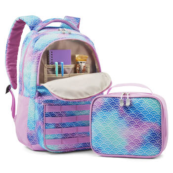 High Sierra Joel Lunch Kit Backpack - Rainbow Scales