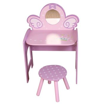 Danawares Unicorn Dressing Table with Stool