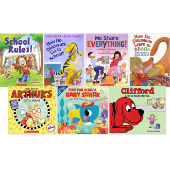 Starting School 7 Book Bundle