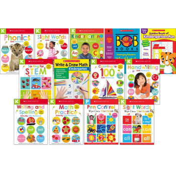Kindergarten Workbook Bundle