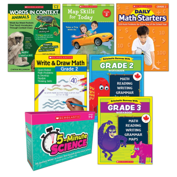 Grade 2 and 3 Success Bundle