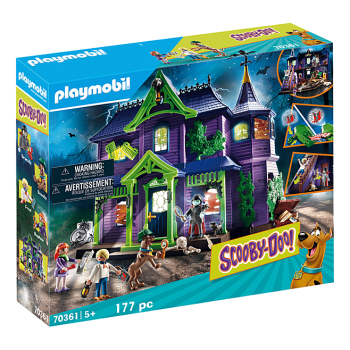 Playmobil SCOOBY-DOO! Adventure in the Mystery Mansion
