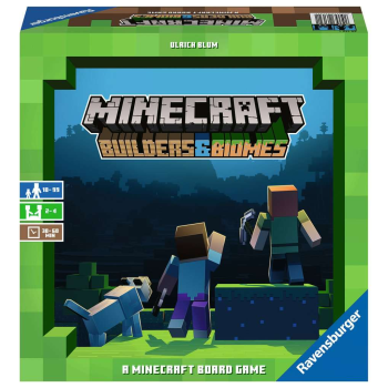 Ravensburger Minecraft Builders & Biomes Board Game