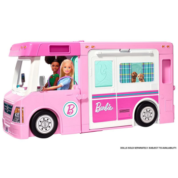 Barbie® 3-in-1 DreamCamper™ Vehicle and Accessories