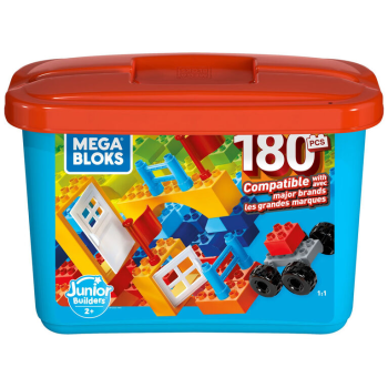 TOY DRIVE - Mega Bloks® Junior Builder 180-Piece Large Block Building Set