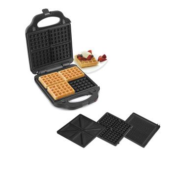 Salton® XL 4-in-1 Panini Press, Grill, Sandwich and Waffle Maker