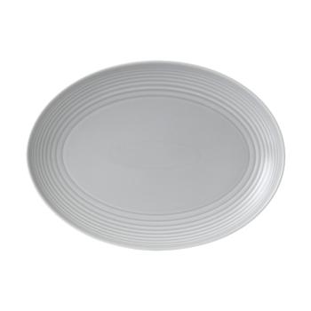 Gordon Ramsay by Royal Doulton® Maze Light Grey Oval Platter