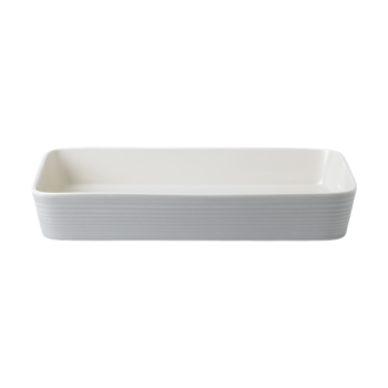 Gordon Ramsay by Royal Doulton® Maze Light Grey Roasting Dish
