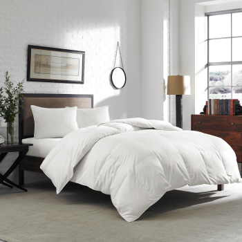 Cuddle Down Peggy's Cove 100% Canadian White Down Duvet - King - 31oz Fill