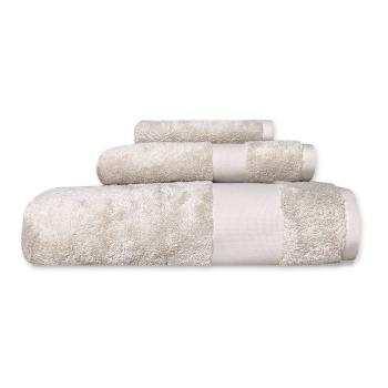 Cuddle Down Alexandria 100% Egyptian Cotton Towel - Sand - Set of 3