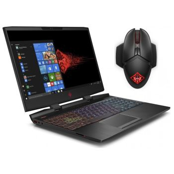HP OMEN 15-dc1040nr 15.6'' Gaming Laptop with OMEN Photon Wireless Mouse