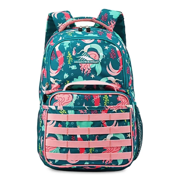 TOY DRIVE - High Sierra Joel Lunch Kit Backpack - Mermaid