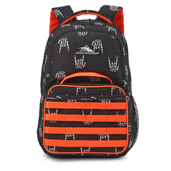 TOY DRIVE - High Sierra Joel Lunch Kit Backpack - Rock On