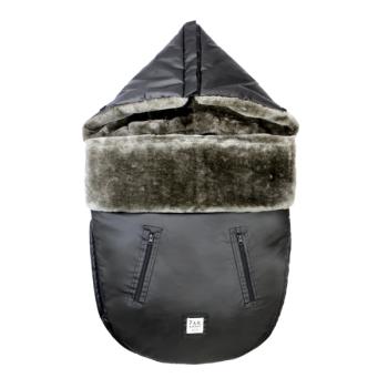 7AM® Enfant Lambpod Bunting Bag - Waxed Forest - Small/Medium 0-18 months