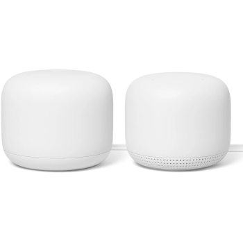 Google Nest Wifi Router and 1 Point