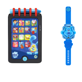 LeapFrog® Blue's Clues & You!™ Really Smart Handy Dandy Notebook & Blue Learning Watch Bundle - English Version