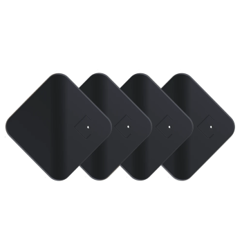 Tracmo CubiTag Bluetooth 5 Tracker - Carbon Black - Set of 4