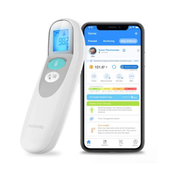 Motorola CARE+ 3-in-1 Smart Non-Contact Baby Thermometer