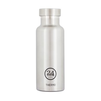 24Bottles Stainless Steel Thermo Bottle - Steel - 500ml - Set of 2