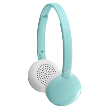 JVC Flats Wireless Bluetooth On-Ear Headphones - Mint
