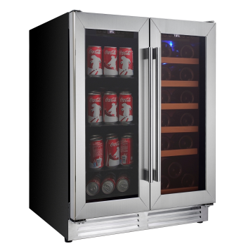 Koolatron Dual Zone Large Beverage Centre and Wine Cooler Cabinet