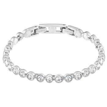 Swarovski Tennis Bracelet - Rhodium