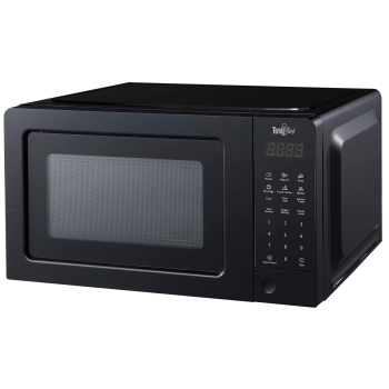 Total Chef® 700W 0.7 Cu Ft Microwave Oven - Black