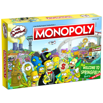 USAopoly MONOPOLY The Simpsons