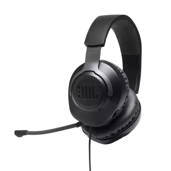 TOY DRIVE -  JBL Quantum 100 Wired Over-Ear Gaming Headset - Black