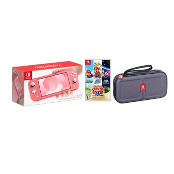 Nintendo Switch Lite Air Miles Exclusive Bundle - Coral