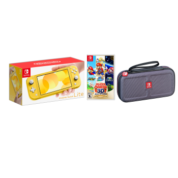 Nintendo Switch Lite Air Miles Exclusive Bundle - Yellow