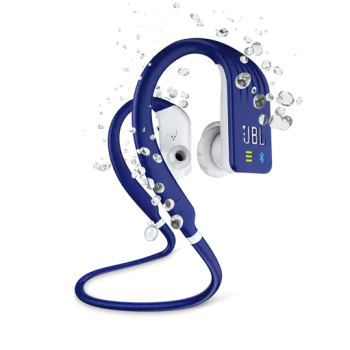 JBL Endurance DIVE Waterproof Wireless In-Ear Sport Headphones with MP3 Player - Blue