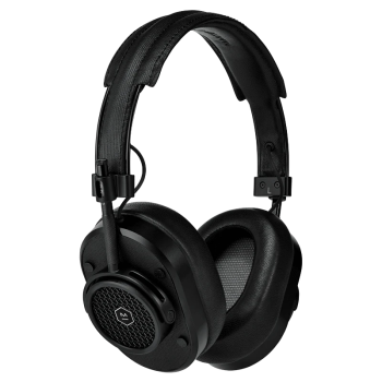 Master & Dynamic MH40 Wireless Over-Ear Headphones - Black Metal/Black Coated Canvas