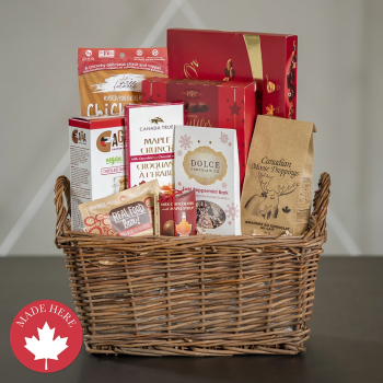 Peter & Paul's Gifts Maple Gift Basket