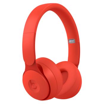 Beats by Dr. Dre Solo Pro Wireless Noise-Canceling On-Ear Headphones - Red