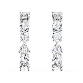 Swarovski Tennis Deluxe Mixed Pierced Earrings