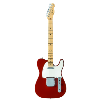 Fender American Special Telecaster with Black Hardshell Case - Candy Apple Red with Maple Fingerboard