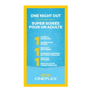 Cineplex Entertainment - One Night Out