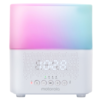Motorola 5 in 1 Soft Glow Humidifier & Speaker