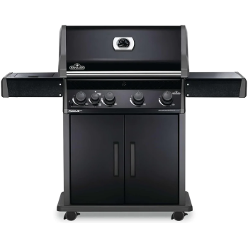 Napoleon Rogue® XT 525 Gas Grill with Infrared Side Burner -  Black - Propane
