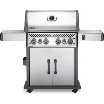 Napoleon Rogue® SE 525 Gas Grill with Infrared Side and Rear Burners - Stainless Steel - Natural Gas