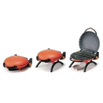 Napoleon Travel Q™ 2225 Portable Gas Grill - Orange - Propane