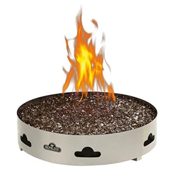 Napoleon Patioflame® Gas Fire Pit Burner with Fire Glass - Natural Gas