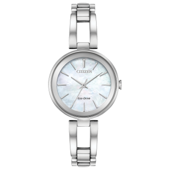 Citizen Axiom Ladies Eco-Drive Mother of Pearl Dial Watch