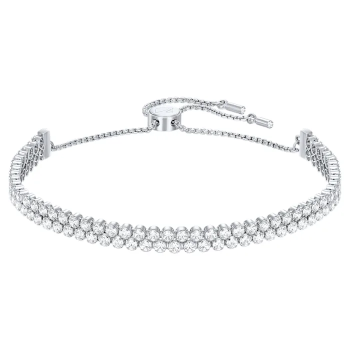 Swarovski Subtle Bracelet - Rhodium