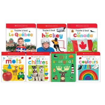 Canadian Baby 7-Book Bundle - French