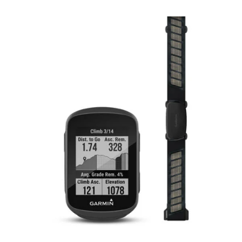 Garmin® Edge® 130  Plus GPS Bike Computer with Heart Rate Monitor