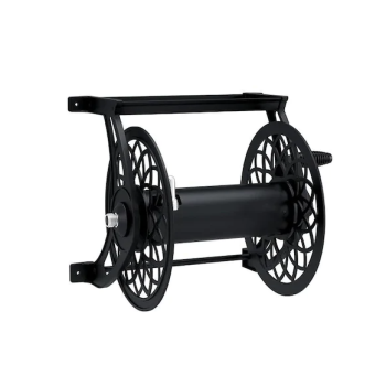 Suncast 125 ft. Decorative Metal Hose Reel - Black
